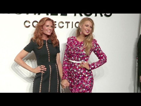 Blake Lively and her sister Robyn at the Michael Kors fashion  in New York