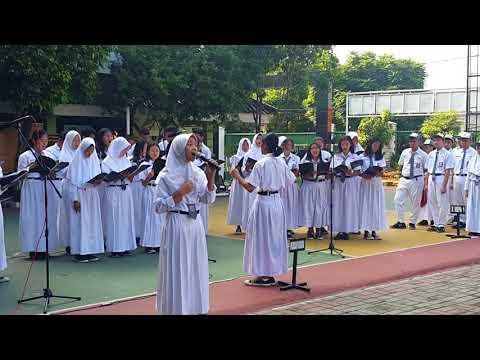 Ars Vocis Choir - SYUKUR (Upacara Sumpah Pemuda 30/10/2017)