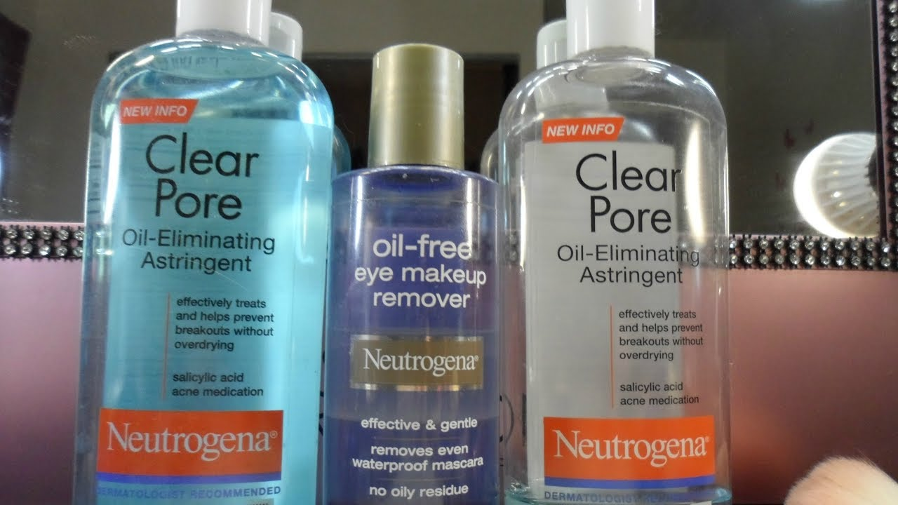 Neutrogena oil free eye makeup remover review