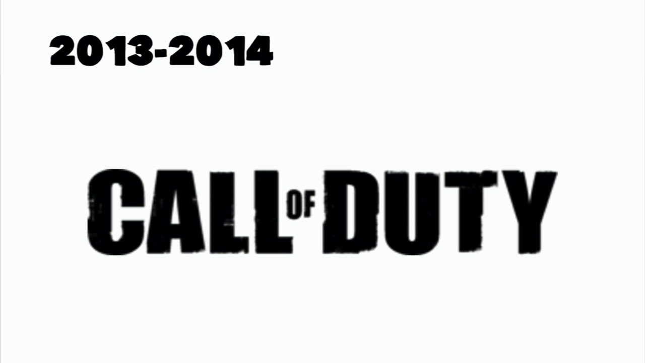 Call Of Duty Logo History Youtube