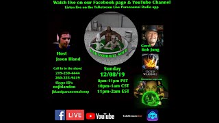 Paranormal Soup Ep 205 guest Rob Jung