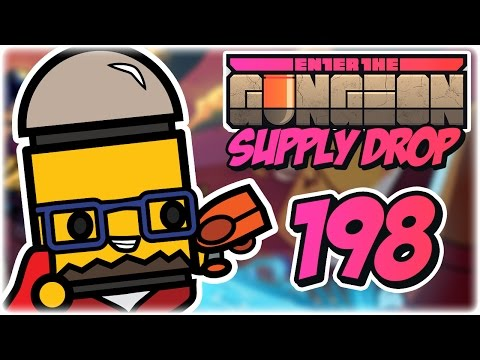 Gunther Run | Part 198 | Let's Play: Enter the Gungeon: Supply Drop | Robot PC Gameplay