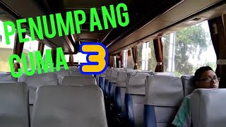 "Penumpang Cuma 3 !! SUGENG RAHAYU W7110uz Banter Tapi Diblong MIRA 7221"" Trip Report Bus"