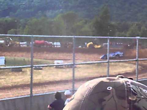 Josh Richards at Mckean County Raceway