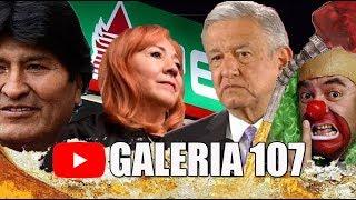GALERÍA#107: ZAFARRANCHO CNDH / POLÉMICA CON EVO MORALES / HACKEO PEMEX