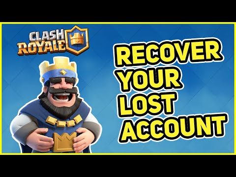 How To Recover Your LOST CLASH ROYALE Account In 2020 | 100% WORKING In English | IPhone | Android