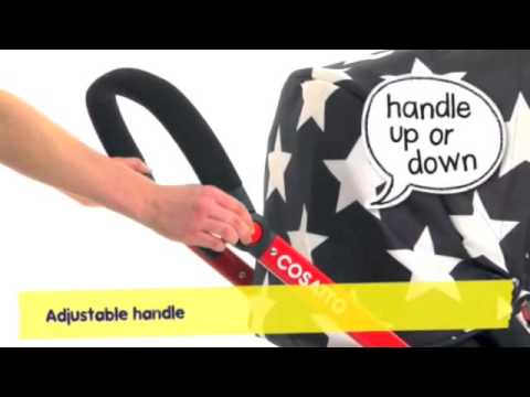 Cosatto Giggle Stroller: How to guide and features video