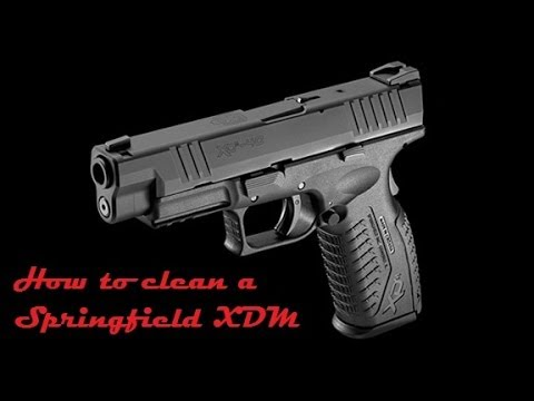 How to clean a Springfield XDM