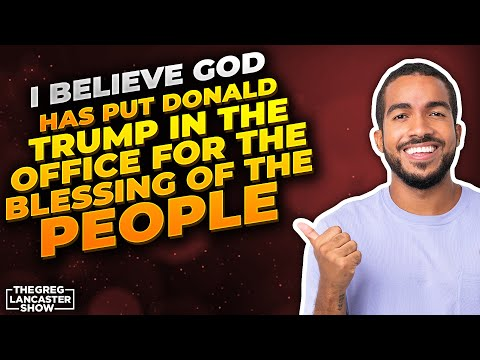 """""""I believe God has put Donald Trump in the office for the blessing of the People"""" -Anne Graham-Lotz"""