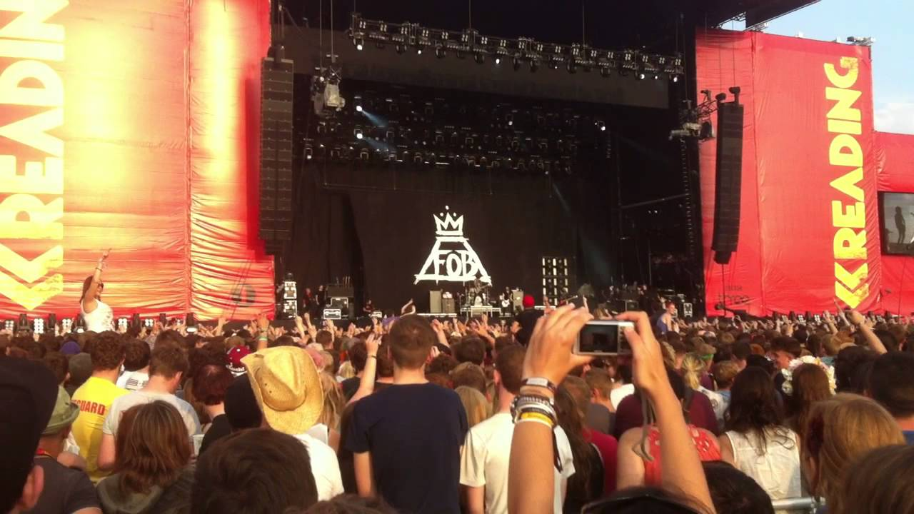Image result for fall out boy reading