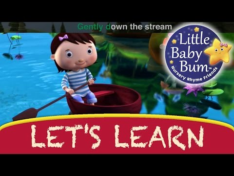 Row Row Row Your Boat | Little Baby Bum | Nursery Rhymes for Babies | Songs for Kids
