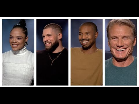 CREED 2 Interviews: Michael B. Jordan, Dolph Lundgren, Florian Munteanu and Tessa Thompson