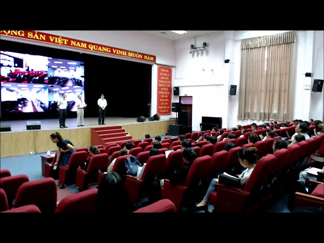 Vietnam UEL conducting e-learning using Softfoundry FacePro Solution