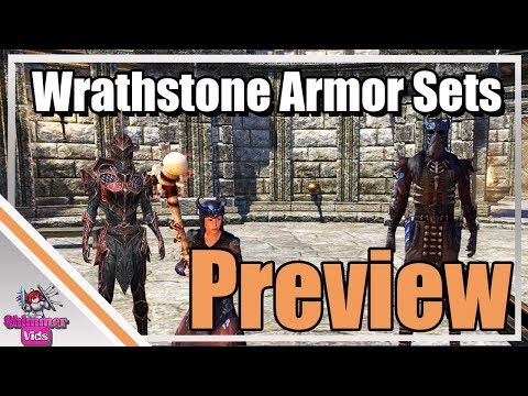 ESO: Wrathstone Armor Sets - Preview