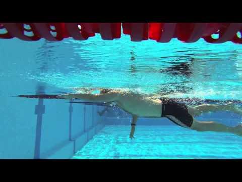 CoachCox Lanzarote Training Camp 2013 - Sam Swim Analysis Video