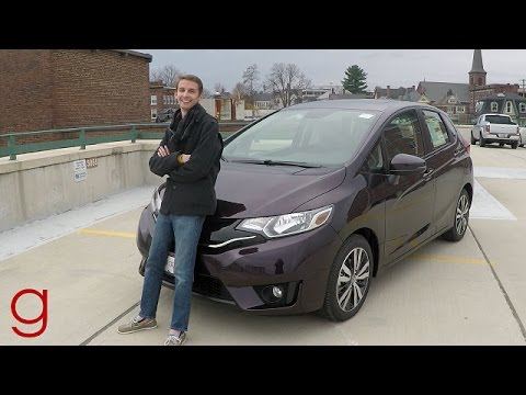 2017 Honda Fit Ex L Road Test Review