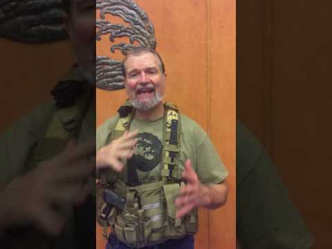 CRKT Yukanto demonstrated in Tactical Vest by James Williams