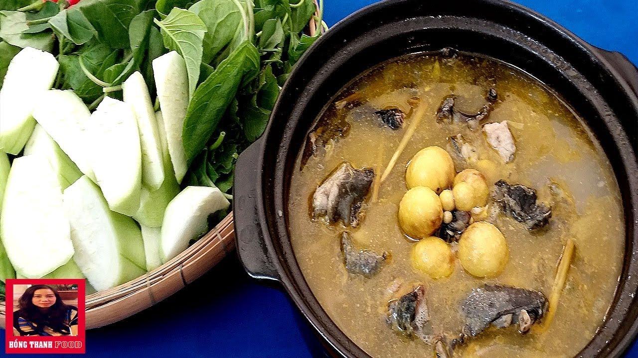 Bí quyết, cách nấu Lẩu Gà Ác thơm ngon cực kỳ bổ dưỡng cho cả gia đình by Hồng Thanh Food