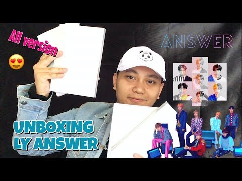 BTS ALBUM LOVE YOURSELF ANSWER UNBOXING [Bahasa Indonesia]