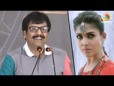 Vivek's funny advice to Nayanthara for not attending the Audio Launch | Kashmora Press Meet Speech