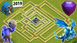 NEW BEST TOWN HALL 12 (TH12) BASE 2019 WITH 3 REPLAYS PROOF | TH12 TROPHY/FARMING BASE | COC