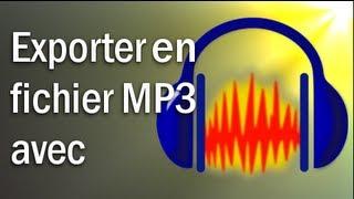 TUTO FR | Comment exporter un fichier Audacity en format MP3