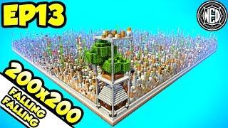 Canal Upgrades + LUCKIEST Enchant + Tree Farm | Minecraft Let's Play Ep. 13 (Custom Map)