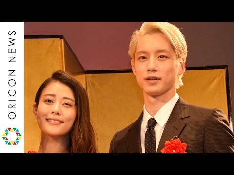 坂口健太郎&高畑充希、授賞式で2ショット披露 交際質問はそろって明言避ける 第41回エランドール賞