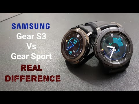 Samsung Gear Sport Vs. Gear S3: Which Should You Buy?