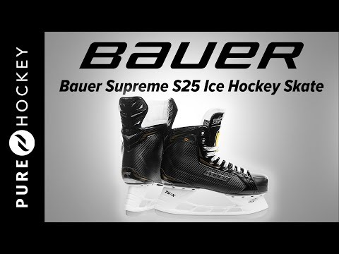 Bauer Supreme S25 Ice Hockey Skate | Product Review
