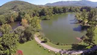 Drone View of Black Mountains/Asheville, North Carolina ( GOPROhero4)