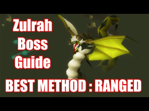 [IKOV] Zulrah Boss Guide   BEST METHOD RANGED