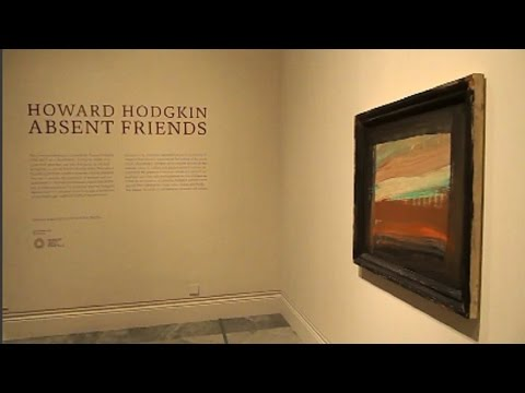Howard Hodgkin: Absent Friends at the National Portrait Gallery - 23rd March to 18th June 2017