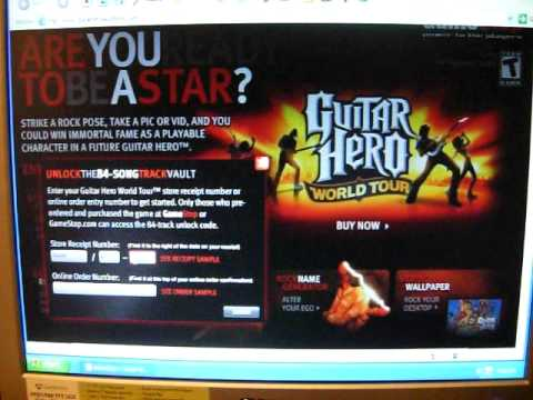 Add Songs In Guitar Hero World Tour