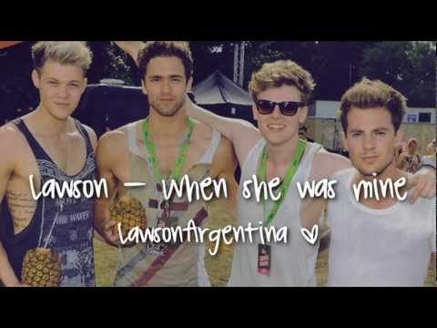 Lawson - When She Was Mine (Traducida al español)