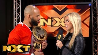 Ricochet promises a treat for the NXT Universe: WWE Exclusive, Dec. 12, 2018