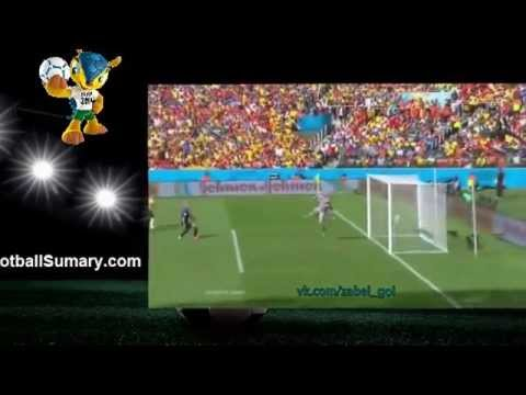 2014 World Cup Australia 2 - 3 Netherlands all Goals and Highlights