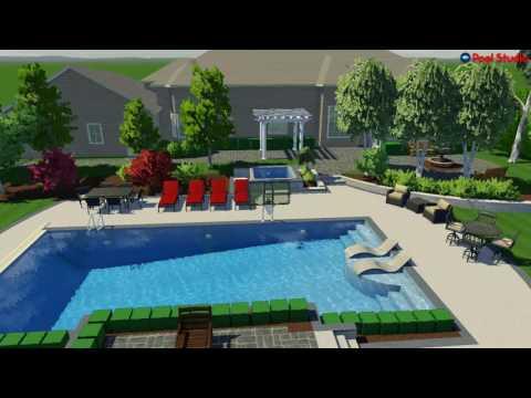 Mequon, WI Pool Studio Walk-through of Future Backyard