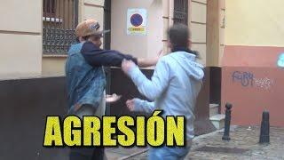 AGRESION POR BROMA | EL CARA ANCHOA VS MRGRANBOMBA + OPINIÓN