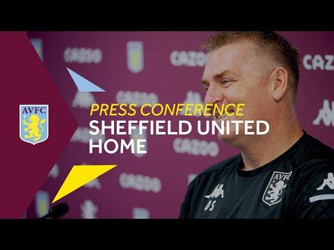 PRESS CONFERENCE   Dean Smith Pre-Sheffield United