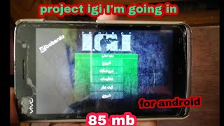Project Igi I