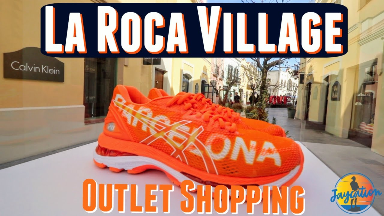 Indiferencia querido animación  LA ROCA VILLAGE OUTLET - Shopping in Barcelona Spain - YouTube