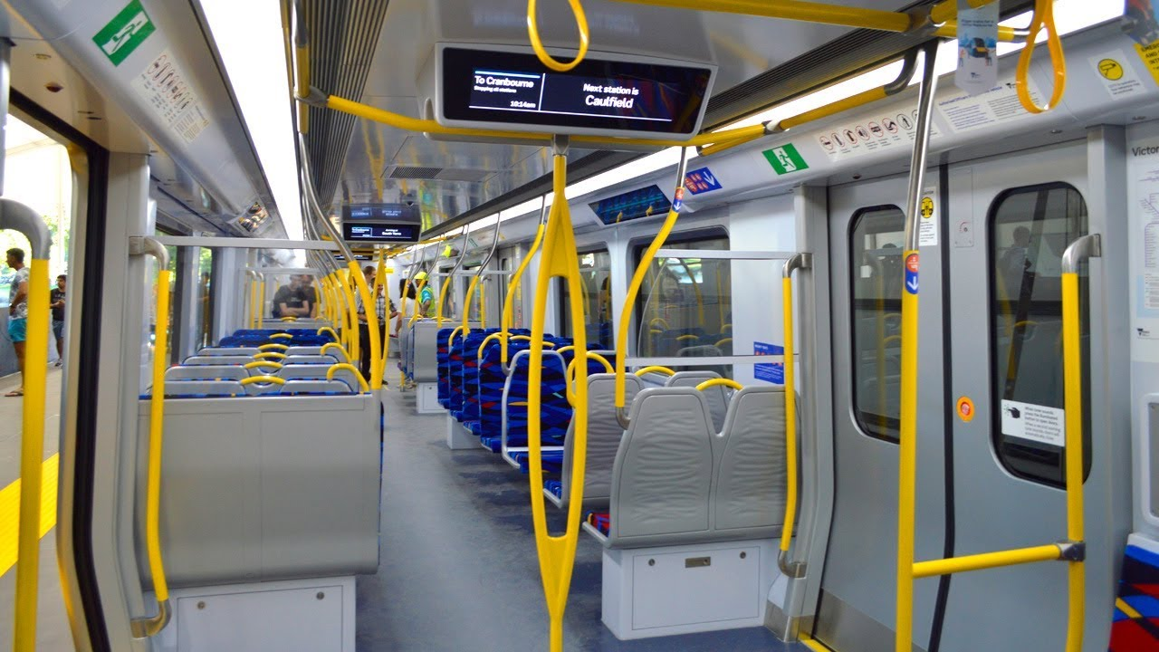 A tour of Melbourne's new High Capacity Metro Train (mockup)