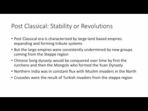 Classical to Modern Migration