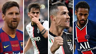 Ronaldo Taki Taki Vs Messi Rockabye Vs Neymar Happier Vs Dybala Lalala