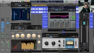 Mixing Vocals with Serial Compression