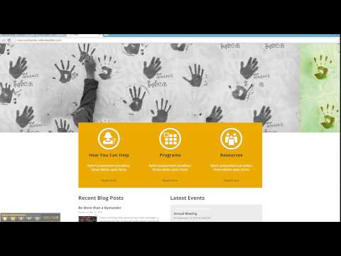 Easy Way To Build Your Nonprofit Website