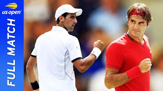 Novak Djokovic vs Roger Federer in a five-set thriller! | US Open 2011 Semifinal