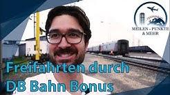 So funktioniert DB Bahn Bonus!