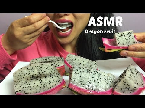 ASMR Dragon fruit (EATING SOUNDS) | SAS-ASMR